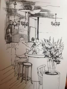 bloemen tekening